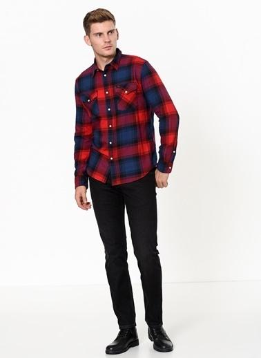 Lee Gömlek Kırmızı